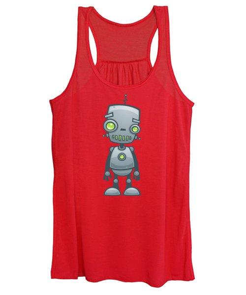 Happy Robot Women's Tank Top