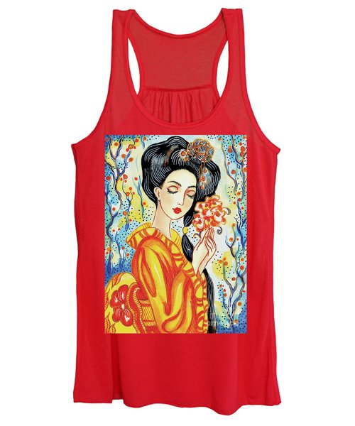 Harmony Flower Women's Tank Top