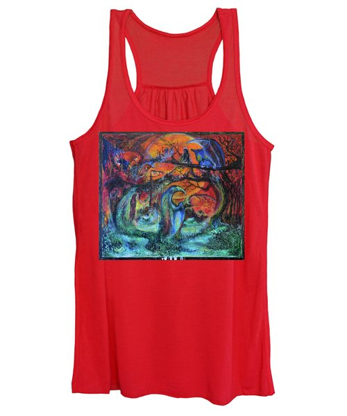 Harvesters Of The Autumnal Swamp Women's Tank Top