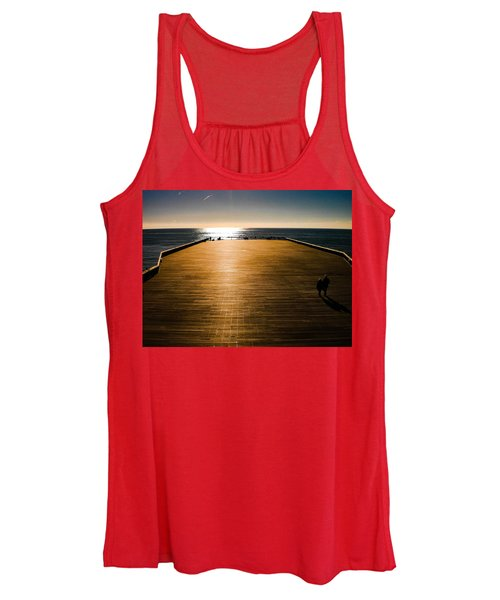 Hastings Pier, Hastings, Sussex, England Women's Tank Top