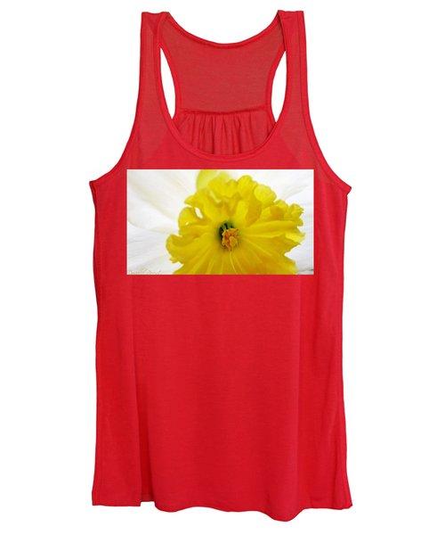 Heart Of A Daffodil  Women's Tank Top
