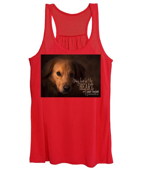 Heart Of Your Home  Women's Tank Top