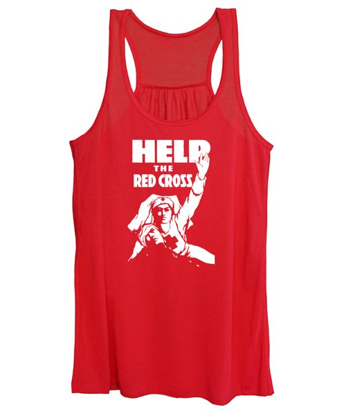 Help The Red Cross Women's Tank Top