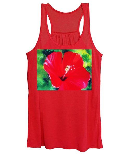Hibiscus 2 Women's Tank Top