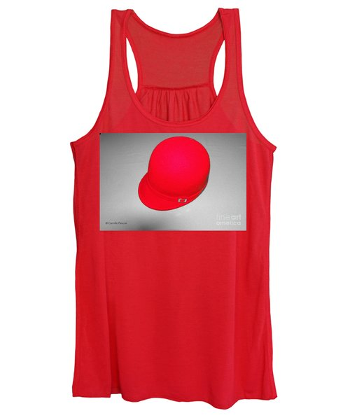 Hints Of Red - Hat Women's Tank Top