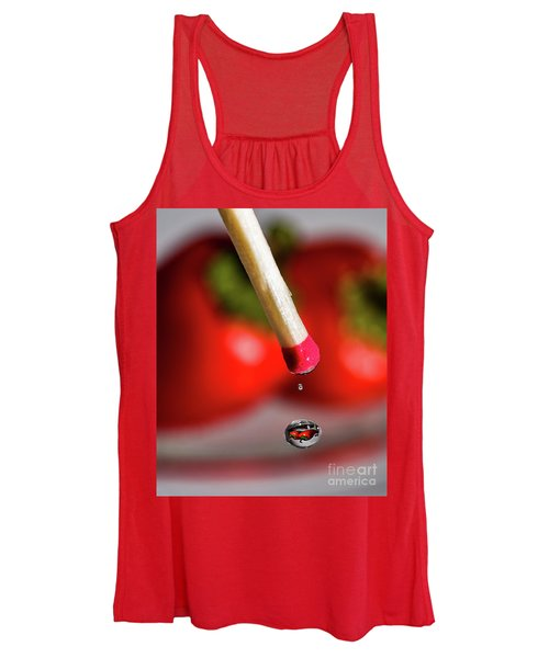 Hot Pepper Drops Women's Tank Top