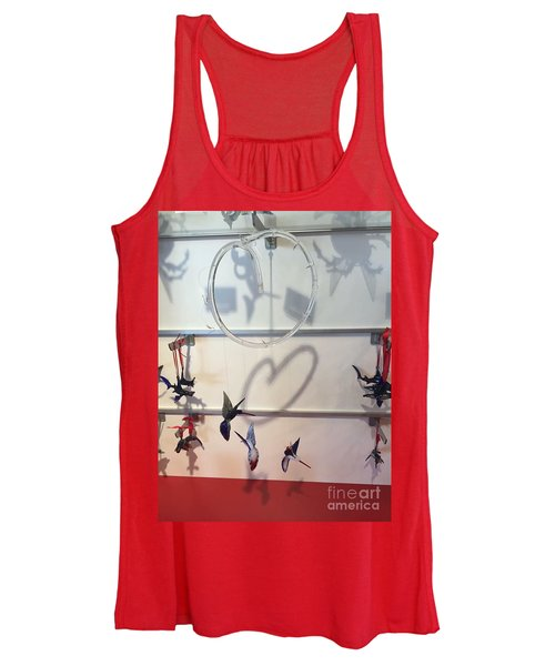 Hummingbird Shadows Women's Tank Top