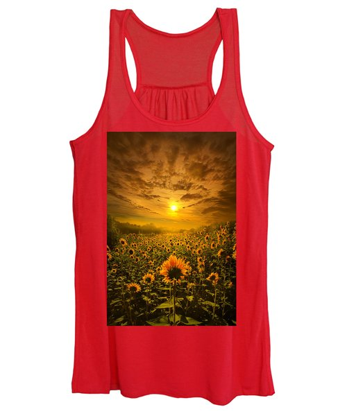 I Believe In New Beginnings Women's Tank Top