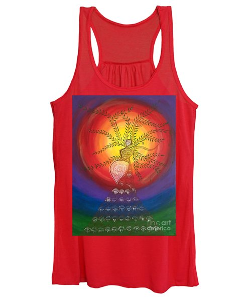 I Carry The Universe In Me Women's Tank Top