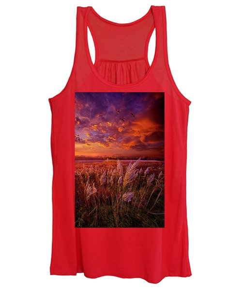 I Spoke To God Today Women's Tank Top