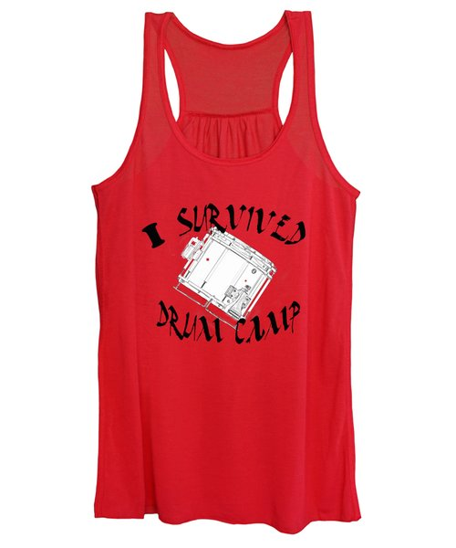I Survived Drum Camp Women's Tank Top