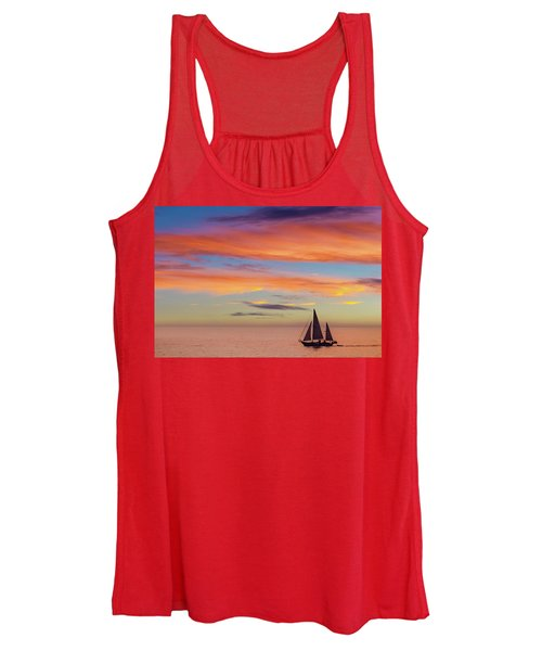 I Will Sail Away, And Take Your Heart With Me Women's Tank Top