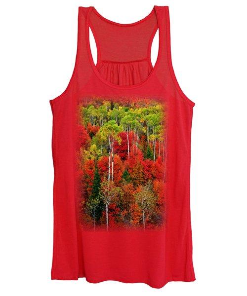 Idaho Autumn T-shirt Women's Tank Top