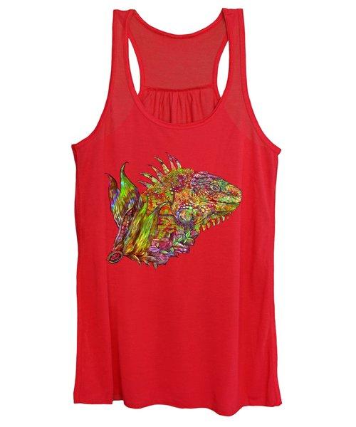 Iguana Hot Women's Tank Top