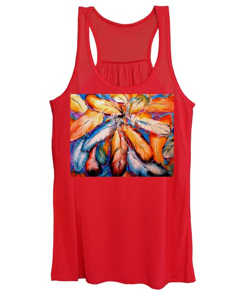 Indian Feathers 2006 Women's Tank Top