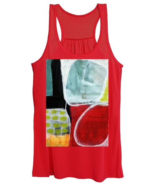 Intersection 37- Abstract Art Women's Tank Top
