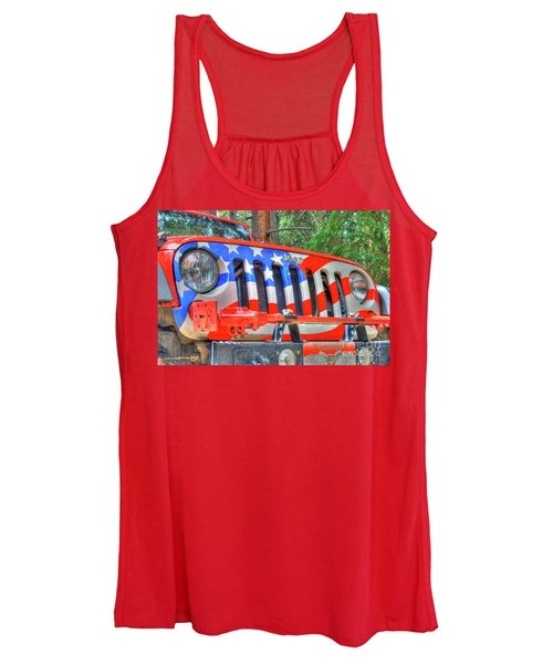 Jeep Usa Women's Tank Top