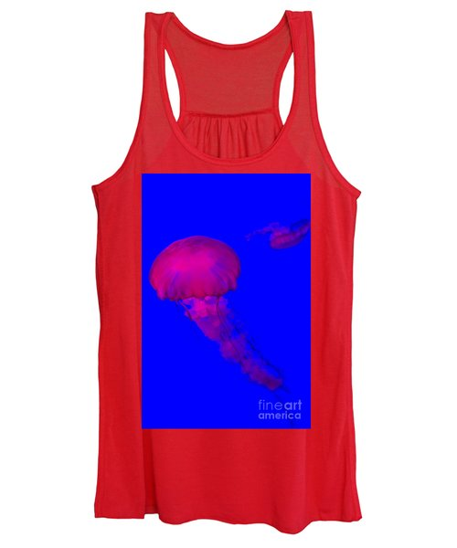 Jellyfish-8969-1 Women's Tank Top