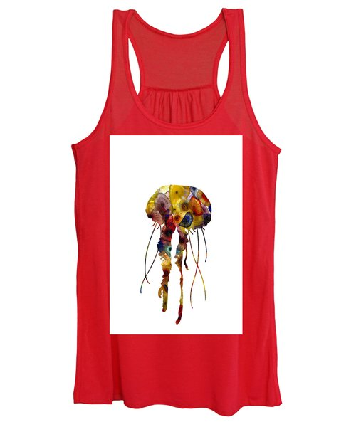 Women's Tank Top featuring the photograph Jellyfish by Michael Colgate
