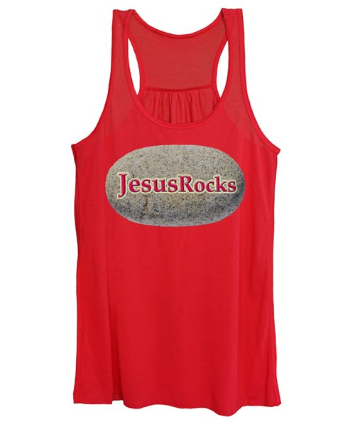 Jesus Rocks Women's Tank Top