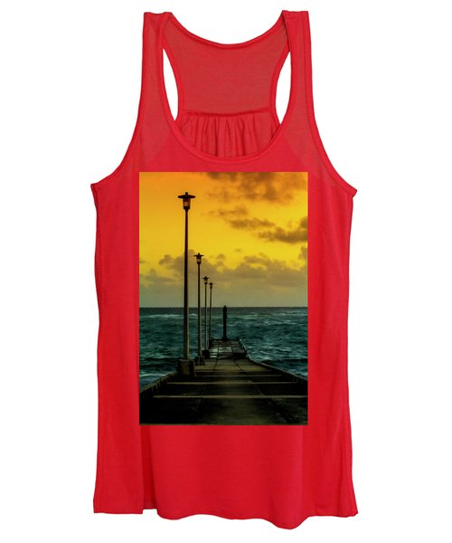 Jetty At Sunrise Women's Tank Top
