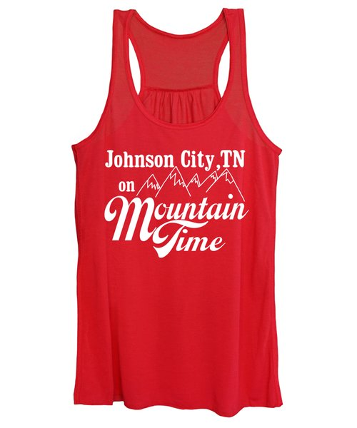 Johnson City Tn On Mountain Time Women's Tank Top