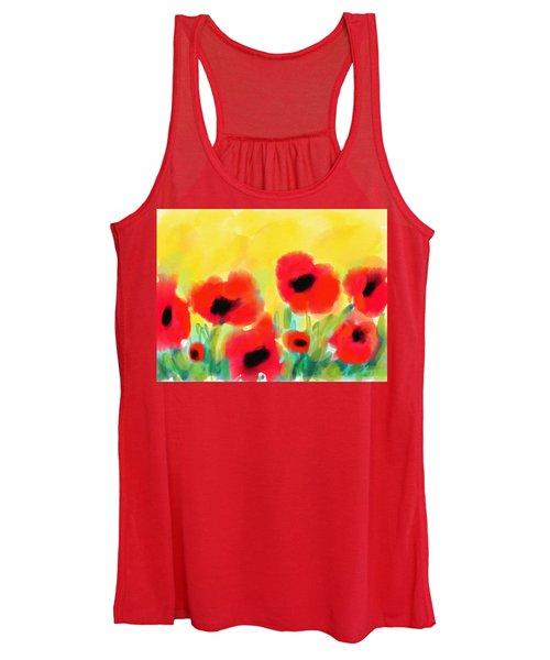 Just Poppies Women's Tank Top