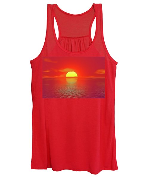 Last Sunset Women's Tank Top