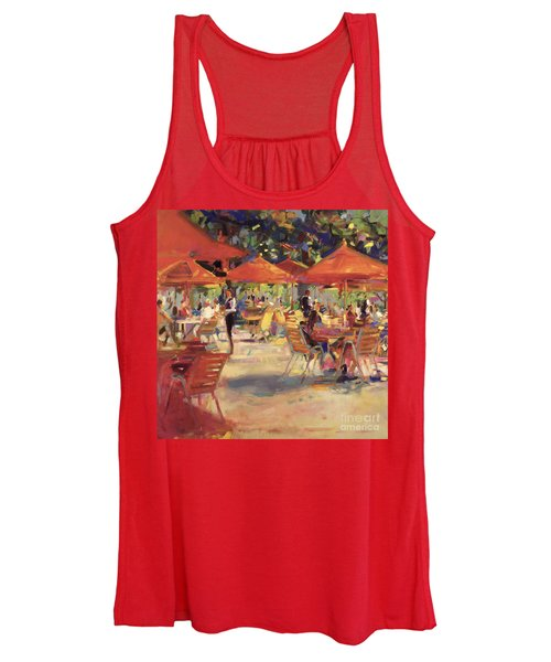 Le Cafe Du Jardin  Women's Tank Top