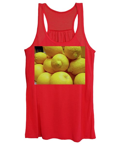 Lemon Squeeze Women's Tank Top