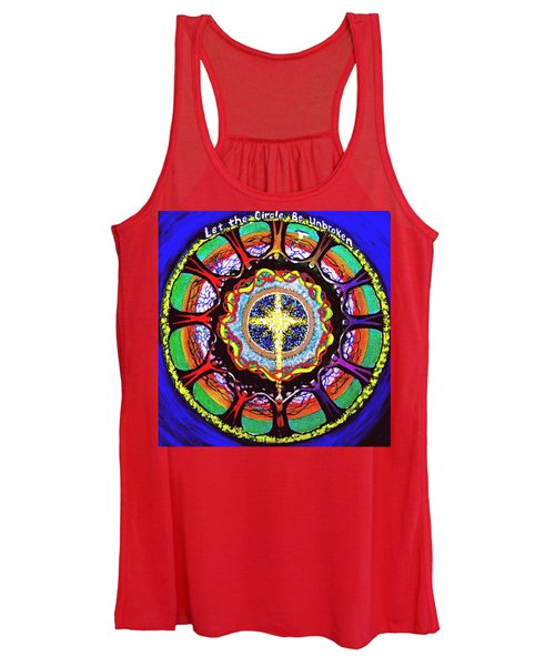 Let The Circle Be Unbroken Women's Tank Top
