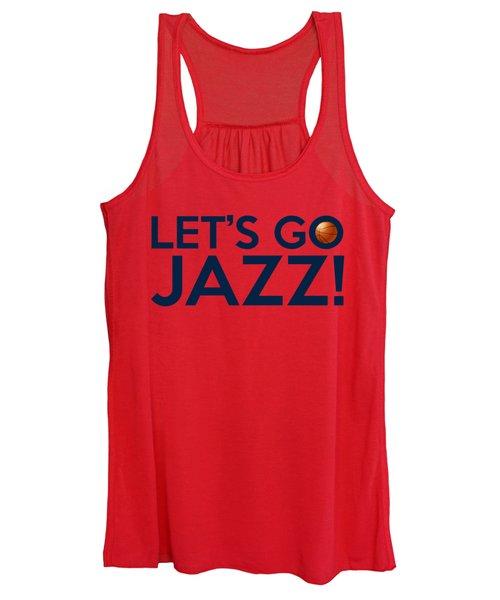 Let's Go Jazz Women's Tank Top
