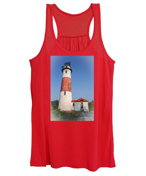Lighthouse And Entry Women's Tank Top