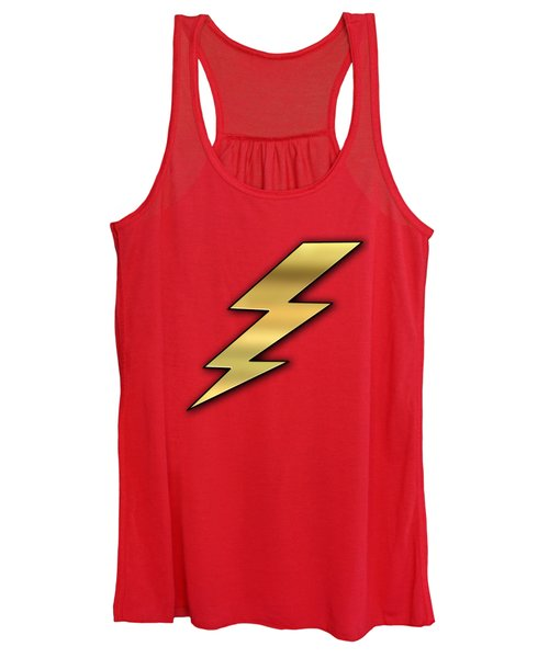 Lightning Transparent Women's Tank Top