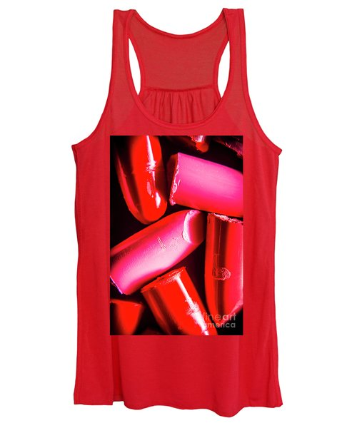 Lipgloss And Letdown Women's Tank Top