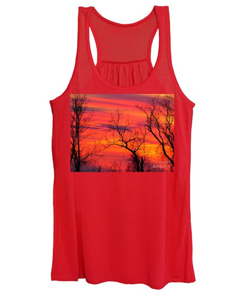 Little More Color At Sunset Women's Tank Top