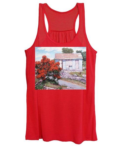 Little Poinciana Women's Tank Top