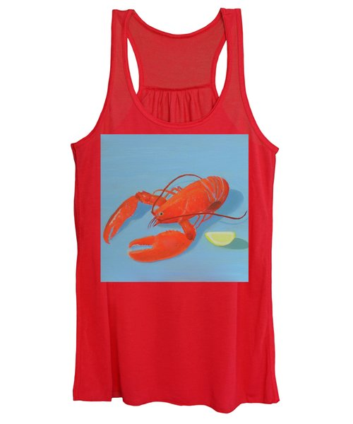 Lobster And Lemon Women's Tank Top