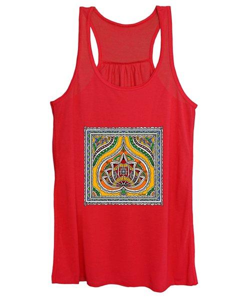 Lotus In Mithila  Women's Tank Top