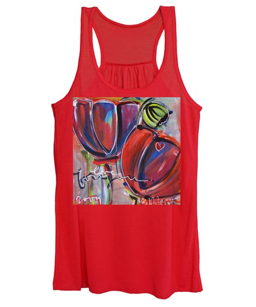 Love For You No.3 Women's Tank Top