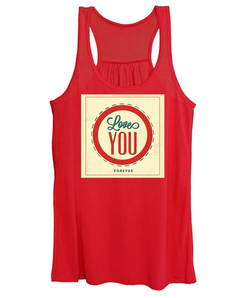 Love You Forever Women's Tank Top