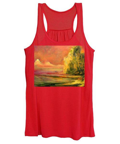 Luminous Sunset 2-16-06 Julianne Felton Women's Tank Top