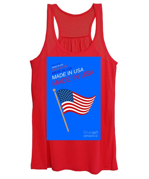 Made In Usa Women's Tank Top