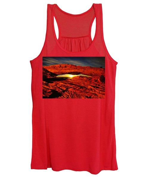 Mesa Arch Moonshine Women's Tank Top