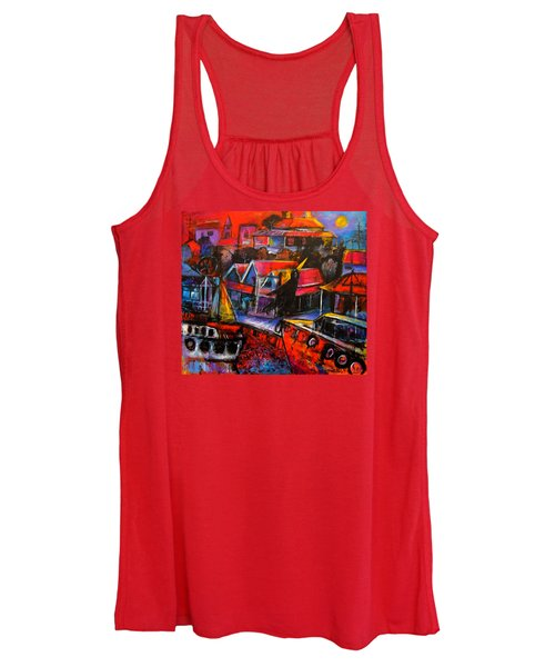 Mesmerised By The Moon Women's Tank Top