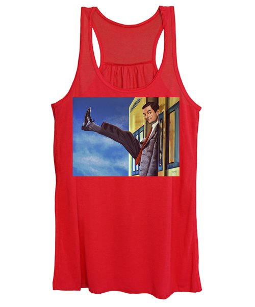 Mister Bean Women's Tank Top