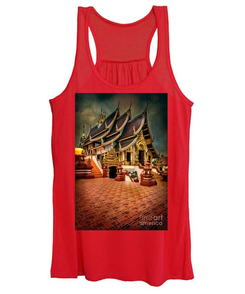 Monthian Temple Chiang Mai  Women's Tank Top