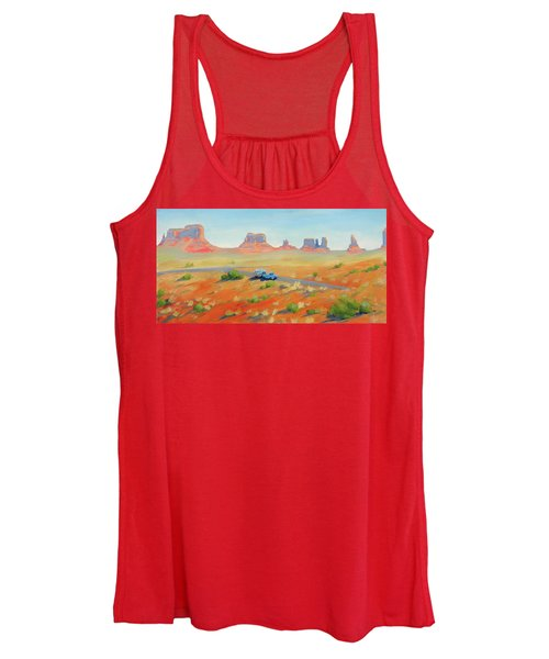 Monument Valley Vintage Women's Tank Top