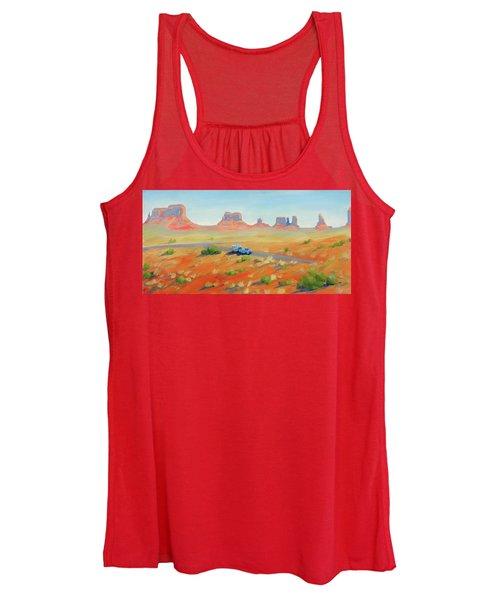 Monument Valley Vintage Women's Tank Top