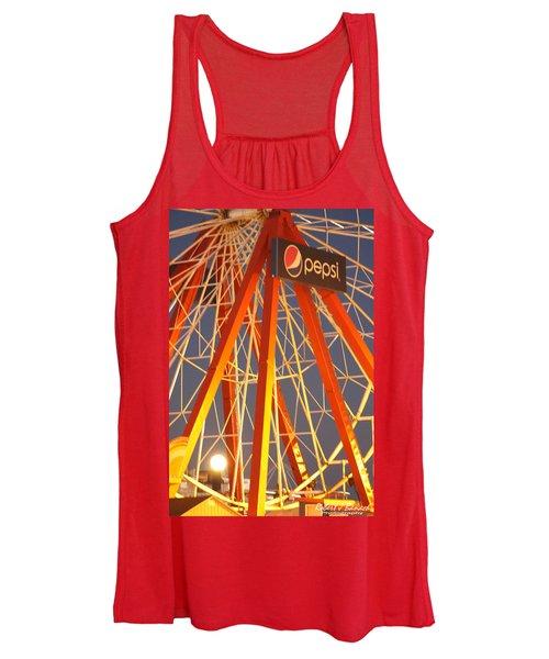 Moon And The Ferris Wheel Women's Tank Top
